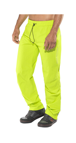 Protective Seattle Rain Pants Men neon green